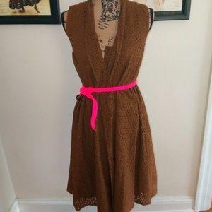 Jones NY NWT brown paisley dress